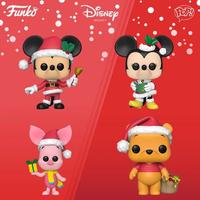ファンコ ポップ  ディズニー クリスマス 4体セット FUNKO  POP! Disney Holiday  set of 4