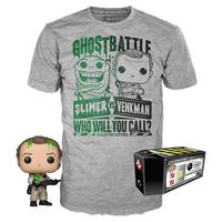 ファンコ  ポップ  『ゴーストバスターズ』ベンクマン博士 Tシャツセット Funko POP! & Tshirt  Ghostbusters  Venkman