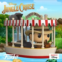 Disney Parks限定  ファンコ ポップ  「ジャングル・クルーズ」 Funko Pop! Jungle Cruise Congo Queen Boat