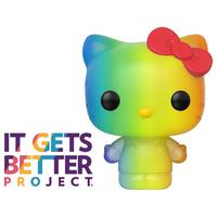 ファンコ  ポップ ハローキティ【レインボー】  FUNKO POP! Hello Kitty Pride 2020 Rainbow Pop!