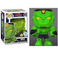 ファンコ ポップ マーベル「アベンジャーズ:メカストライク」ハルク(グロー版)FUNKO POP! MARVEL Avengers MECH STRIKE Hulk(GITD)