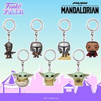 ファンコ ポップ ポケット キーチェーン 『スターウォーズ マンダロリアン』  Funko POP! Star Wars Mandalorian Keychains