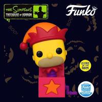 ファンコ ポップ  ザ・シンプソンズ  びっくり箱 ホーマー(グロー版) FUNKO POP! THE SIMPSONS Jack-In-The-Box Homer(GITD)