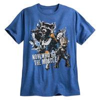 『ガーディアンズ・オブ・ギャラクシー:リミックス』ロケット・ラクーン&グルート Tシャツ