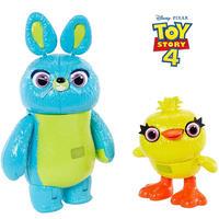 トイストーリー4  インタラクティブ・フィギュア ダッキー & バニー  Toy Story4  Interactive True Talkers Bunny and Ducky 2-Pack