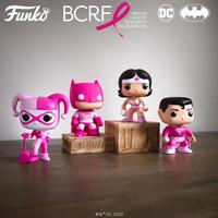 ファンコ  ポップ DCヒーローズ【乳がん啓発】4種セット   FUNKO POP!DC Heroes: Breast Cancer Awareness  set of 4