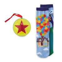 「カールじいいさんの空飛ぶ家」 Pixar Ballのオーナメントに入ったソックス