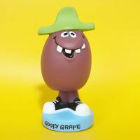 """2002年 ファンコ ワッキーワブラー ファニーフェイス グーフィ・グレープ Funko Wacky Wobbler  """"Funny Face"""" Goofy Grape"""