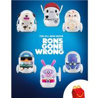 """映画『ロン 僕のポンコツ・ボット』 USマクドナルド ハッピーセット 《単品》 """"Ron's Gone Wrong""""   McDonald's Happy Meal Toy"""