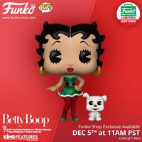 ファンコ ポップ  Funkoショップ限定 エルフ・ベティ・ブープ& パジー Funko POP!  Elf Betty Boop & Pudgy