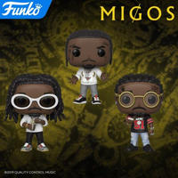 ファンコ ポップ 『ミーゴス』3体セット  FUNKO POP!   Migos   set of 3