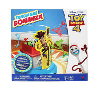 トイストーリー4  フォーキーのゴミ箱ゲーム Toy Story 4 Trash Bin Bonanza