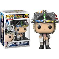 ファンコ ポップ 「バック・トゥ・ザ・フューチャー」ドク with ヘルメット FUNKO POP BTTF -Doc With Helmet