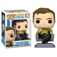 ファンコ ポップ  『スター・トレック/宇宙大作戦』キャプテン・カーク    Funko Pop!  Funko POP TV: Star Trek- Kirk (Captain Chair)