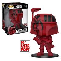 """ファンコ ポップ スターウォーズ フューチュラxファンコ 10"""" ボバ・フェット Star Wars Futura x Funko 10"""" Boba Fett (Red)"""