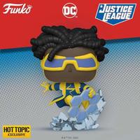 ファンコ  ポップ DCヒーローズ ジャスティスリーグ スタティック・ショック   FUNKO POP!DC Comics Justice League Static Shock