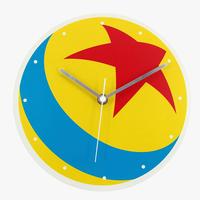 ピクサー ルクソーボール 掛け時計 DISNEY PIXAR LUXO BALL WALL CLOCK
