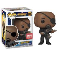 ファンコ ポップ FUNKO POP!  映画『 アベンジャーズ/インフィニティ・ウォー』ニック・フューリー Marvel Collector Corps Exclusive : Nick Fury