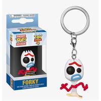 トイストーリー4 ファンコ ポップ ポケット キーチェーン 限定 フォーキー  FUNKO POP!POCKET  Key Chain  FORKY (Sad Face)