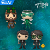 ファンコ ポップ ディズニー『アルテミスと妖精の身代金』4種セット  FUNKO POP!Artemis Fowl