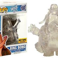 ピクサー 『インサイド・ヘッド』 FUNKO POP!  HOTTOPIC限定 クリア版 ビン・ボン Clear Bing Bong