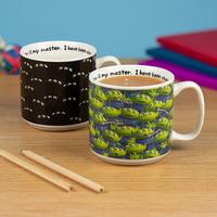 トイストーリー エイリアンの温度で柄が変わる ヒートチェンジ マグカップ