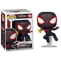 ファンコ ポップ スパイダーマン:マイルズ・モラレス  Funko Pop!Spider-Man Miles Morales Game Classic Suit