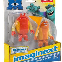 モンスターズ・ユニバーシティ FisherPrice Imaginext/ George and Big Red
