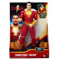 映画『シャザム!』サンダーパンチ・シャザーム DC Comics Thunder Punch Shazam! 12 inch Action Figure