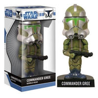 2008年 ファンコ ワッキーワブラー『スター・ウォーズ』コマンダー・グリー FUNKO WACKYWOBBLER STARWARS  Commander Gree