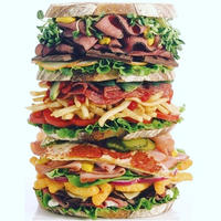 スナック・スタック 500ピース ジグソーパズル   nack Stack Sandwich Puzzle