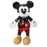 ミッキーマウス スパンコール プラッシュドール Mickey Mouse Reversible Sequin Plush