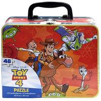 トイストーリー4  ジグソーパズル入り ティン・ランチボックス Toy Story4  Tin Lunchbox  with 48pc Puzzle