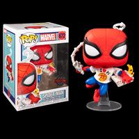 ファンコ ポップ  マーベル スパイダーマン with ピザ FUNKO POP! Spider-Man with Pizza