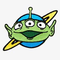トイストーリー アイロン パッチ 【ALIEN】