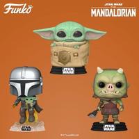 ファンコ ポップ  スターウォーズ『 マンダロリアン』3体セット  FUNKO POP! STARWARS The Mandalorian  set of 3