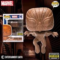 ファンコ  ポップ  マーベル スパイダーマン(木目調) Funko POP! Marvel  Spider-man  Wood Deco