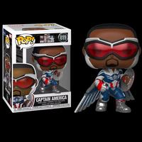 """ファンコ ポップ『ファルコン&ウィンターソルジャー』キャプテンアメリカ w/ウィング Funko POP!Marvel """"The Falcon and the Winter Soldier"""""""