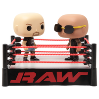 DXファンコ ポップ  WWE ストーン・コールド vs. ザ・ロック   FUNKO  POP : WWE-  Stone Cold vs.The Rock  in Wrestling Ring