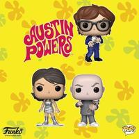 ファンコ ポップ  「オースティン・パワーズ 」3体セット FUNKO  POP!  Austin Powers