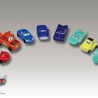 ディズニー・ピクサー カーズ  2006年 マクドナルド ハッピーセット 8車種11台コンプリートセット