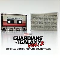 『ガーディアンズ・オブ・ギャラクシー:リミックス』Awesome Mix vol.2 サントラ カセットテープ