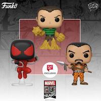 ファンコ ポップ FUNKO POP!  マーベル80周年記念 スパイダーマン 3種セット Marvel's 80th Anniversary Pop