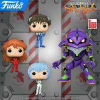 ファンコ ポップ 『新世紀エヴァンゲリオン』4種セット FUNKO POP! Neon Genesis Evangelion set of 4