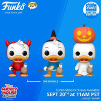ファンコ ポップ  ディズニー FUNKO POP!Funko POP Disney Trick or Treat Huey Dewey & Louie