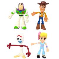 トイストーリー4   ベンダブルフィギュア 4体セット  Toy Story4   Flextreme Bendable Figure