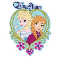 『アナと雪の女王』アナとエルサのPVCマグネット