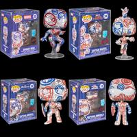 ファンコ ポップ マーベル アーティストシリーズ 4体セット Funko Pop! Marvel - Patriotic Age Artist Series  (Set of 4)