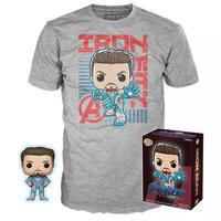 ファンコ  ポップ  『アベンジャーズ 4』アイアンマン Tシャツセット Funko POP! & Tshirt  Marvel: Avengers: Endgame -Iron Man