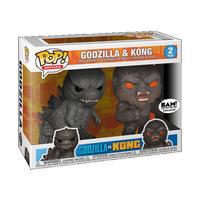 ファンコ ポップ   映画『ゴジラvsコング』2パック  Funko Pop  Godzilla V2packs Kong -2pack